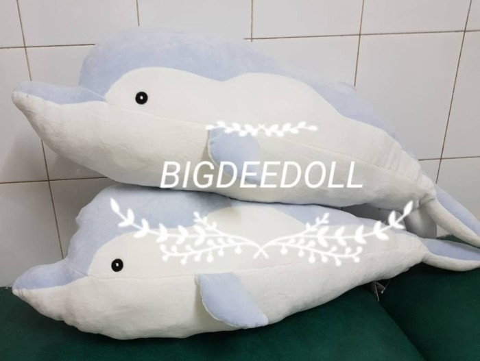 harga Soft dolphin import doll boneka ikan lumba lembut 80cm Tokopedia.com