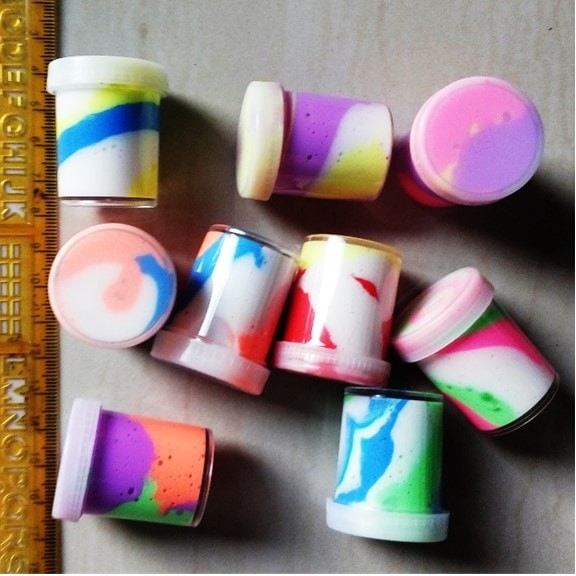 harga Slime slam slem warna warni mainan anak edukatif 10 pcs Tokopedia.com