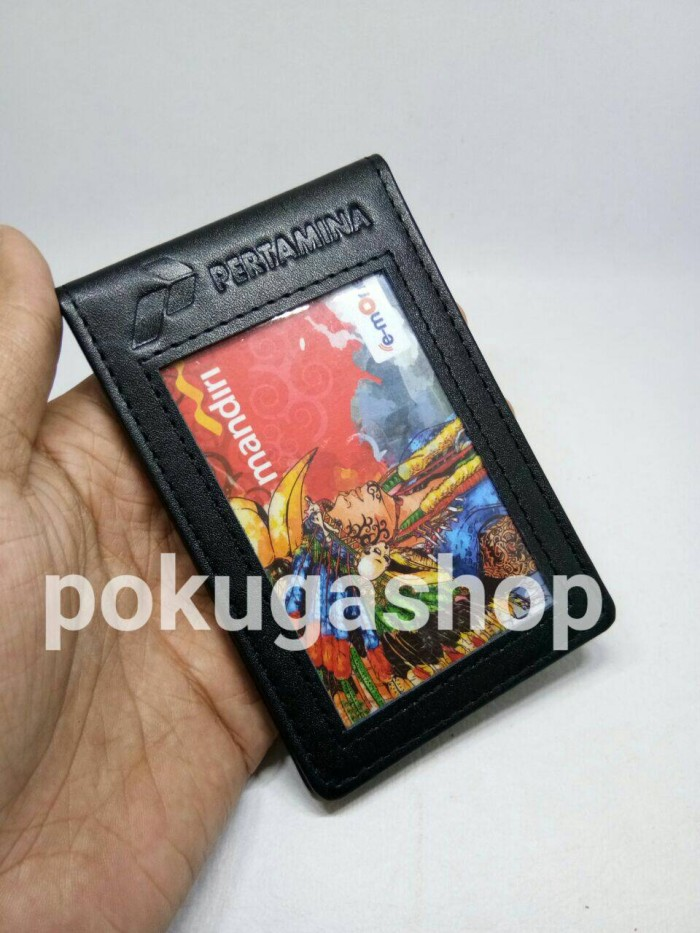 harga Name tag kulit pertamina /pertamina/nametag kulit/id card holder kulit Tokopedia.com