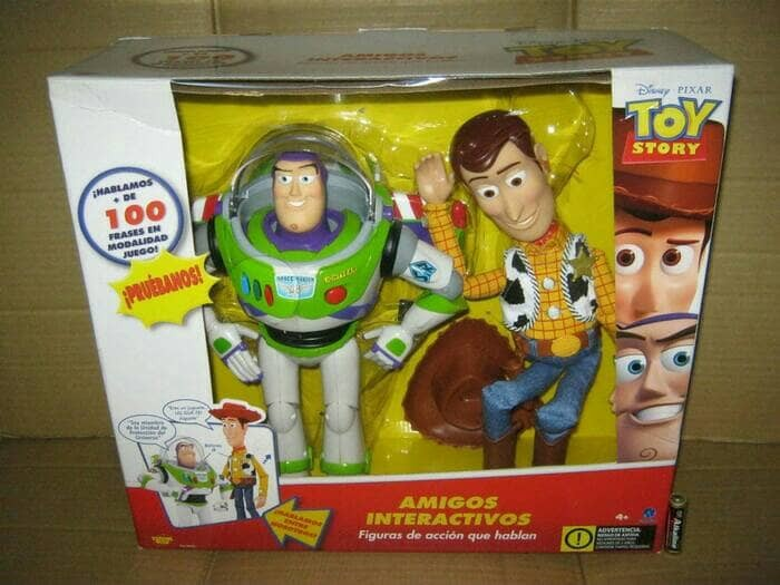 harga Toy Story Woody And Buzz Lightyear Interactive With Voice Light Tokopedia.com