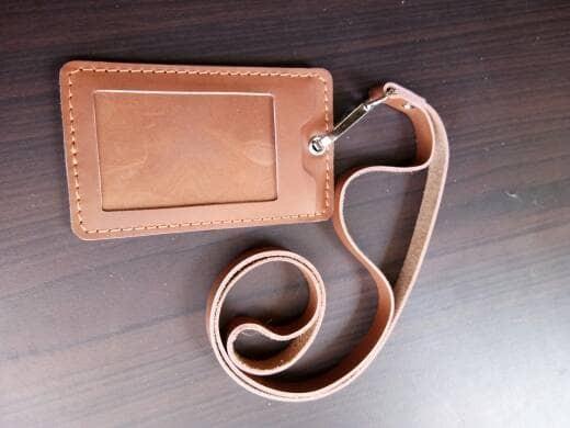 harga Gantungan id card kulit id card holder Tokopedia.com