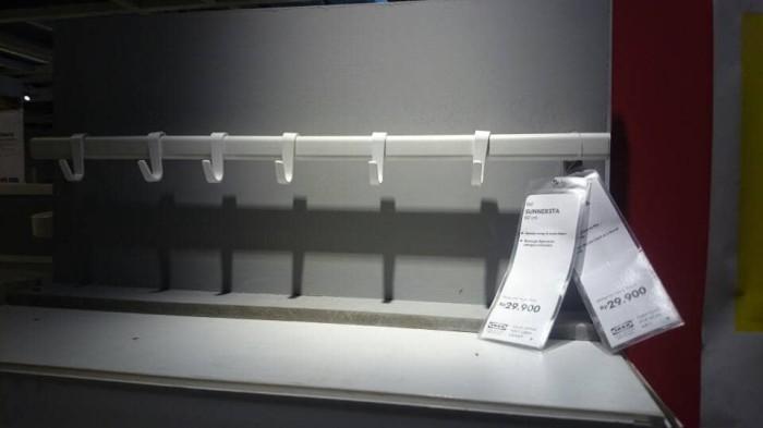 harga Ikea sunnersta rel gantungan mug dan alat dapur 60cm Tokopedia.com