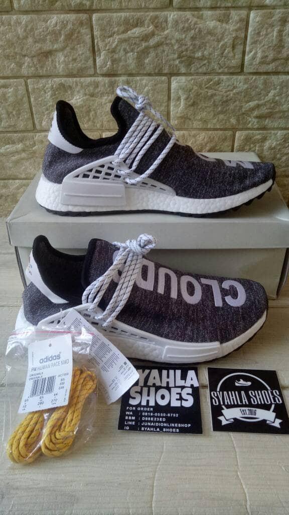 new style e4d46 54308 Jual ADIDAS NMD HUMAN RACE CLOUDS MOOD X PHARRELL WILLIAMS BNIB - DKI  Jakarta - Syahla Shoes | Tokopedia