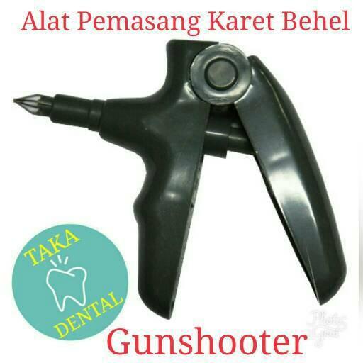 harga Gunshooter alat pasang karet behel gigi otomotis penembak Tokopedia.com