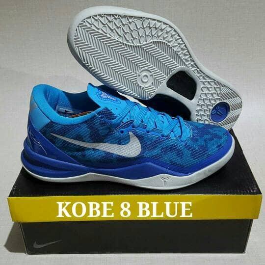 new product b3c83 ab83a SEPATU NIKE KOBE 8 LOW BLUE CORAL