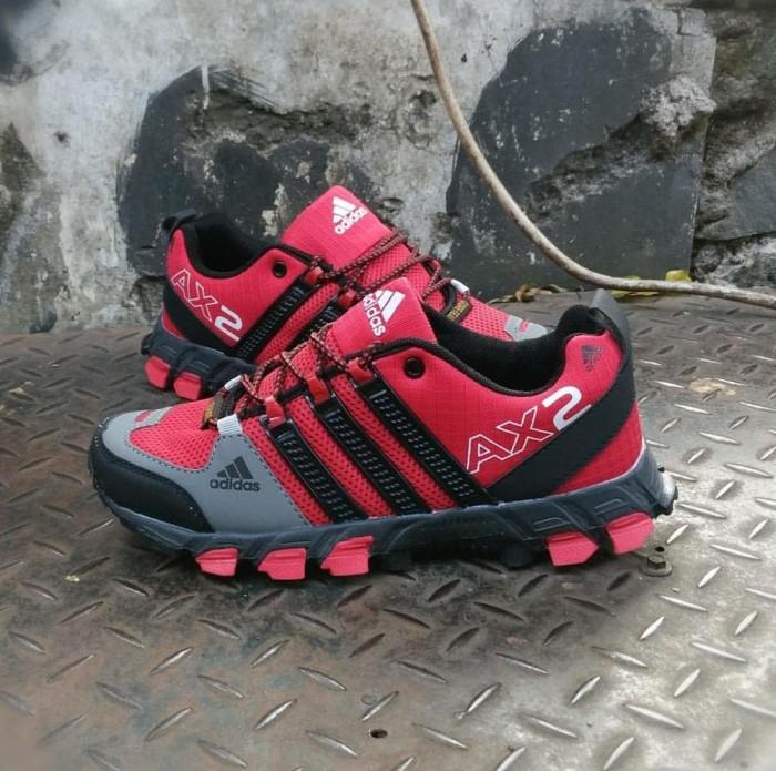 ... harga Sepatu sport adidas ax 2 abu premium original hiking tracking  gunung Tokopedia.com f85bceb748