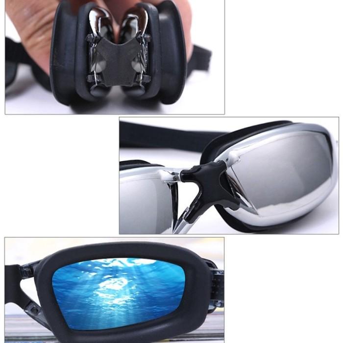 Jual Kacamata Renang Minus Miopi Anti Embun Fogging Profesional ... 430486c162