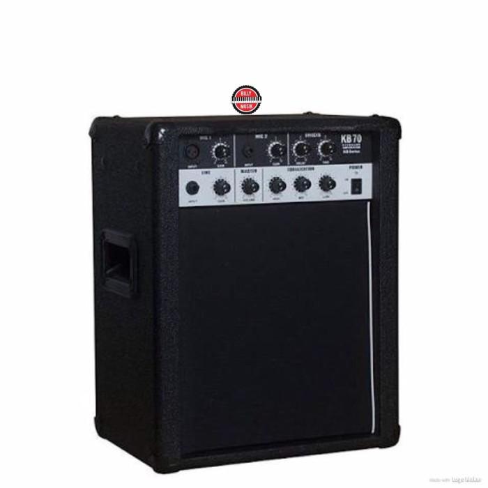 harga Billy musik - ampli keyboard kevin kb-70 10 inch 70 watt 3 channel Tokopedia.com