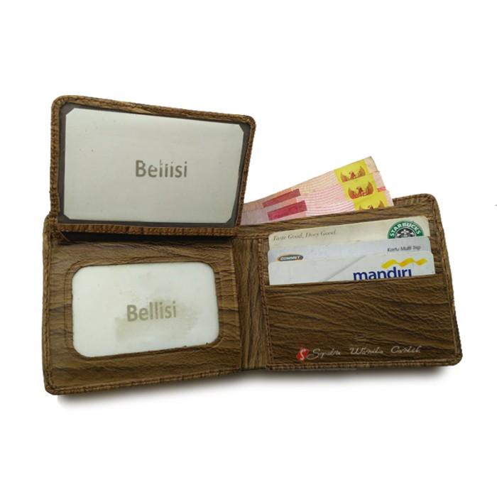 Dompet Pria Kulit Asli Bifold Wallet Mens Import Branded Murah ... bac15dda00