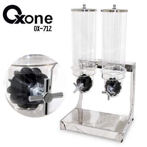 harga Khusus gojek horeca cereal double dispenser oxone (ox-712) Tokopedia.com