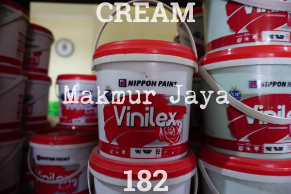 harga Vinilex cream 182 tinting 1.4kg cat tembok interior eksterior Tokopedia.com