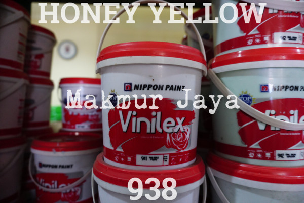 harga Vinilex honey yellow 938 tinting 1.4kg cat tembok interior eksterior Tokopedia.com