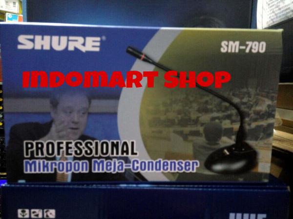 harga Mic meja conference shure sm-790 Tokopedia.com