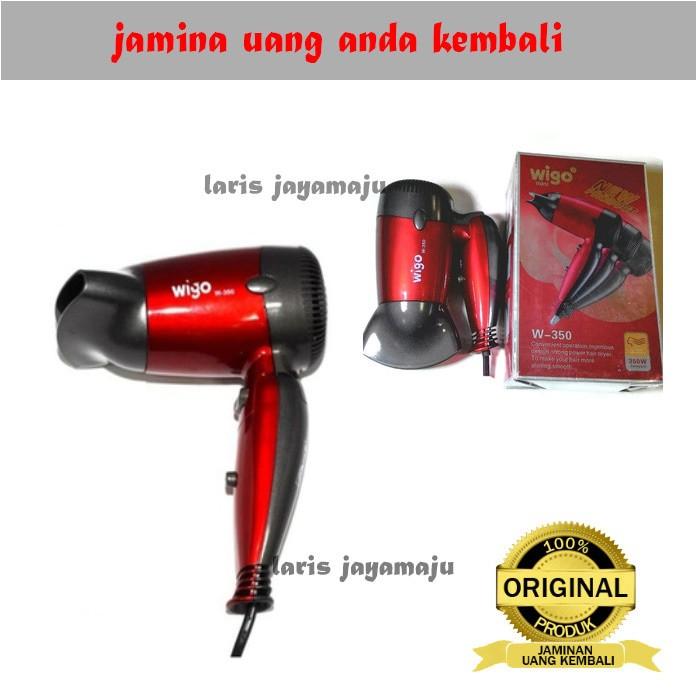 ... harga Hair dryer wigo mini w- 350 merah bagus Tokopedia.com