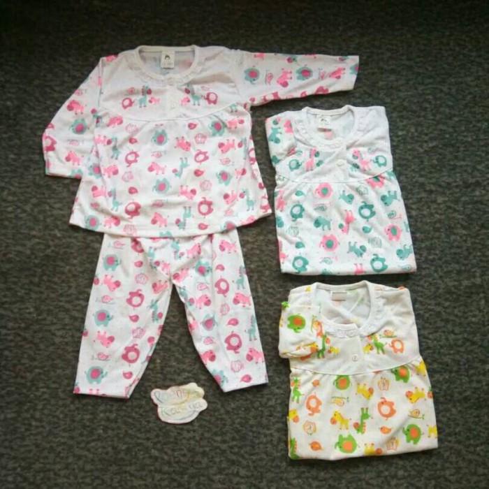 Grosir baju tidur piyama bayi babydoll anak perempuan 1 tahun
