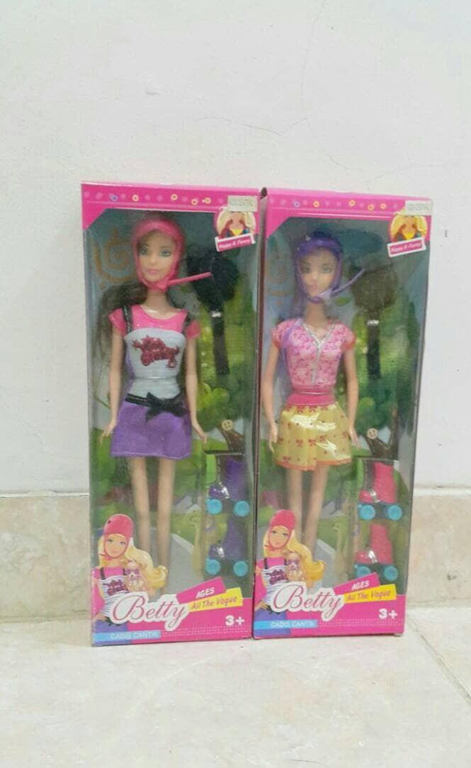 harga Boneka barbie sporty family  edisi sepatu roda Tokopedia.com