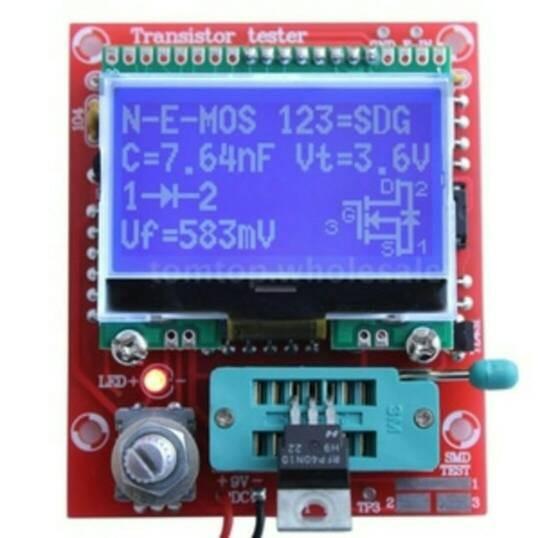 harga Diy kits m328 transistor tester lcr diode capasitor esr meter pwm Tokopedia.com