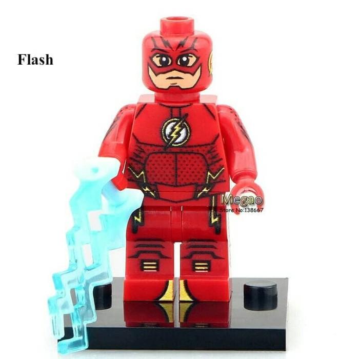 Jual Lego Minifigure Red Flash Xinh Minifigures Super Heroes Dki