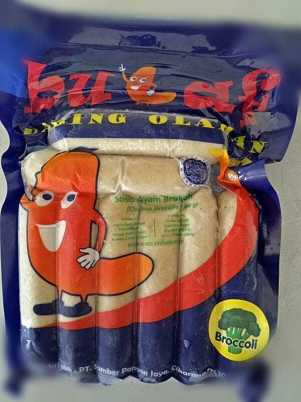 harga Bulaf sosis ayam dan brokoli - sosis sehat non msg Tokopedia.com