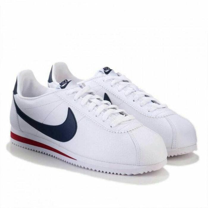 Jual Sepatu Casual Classic NIKE Cortez Leather 749571 146 Murah ... 3daf44f991