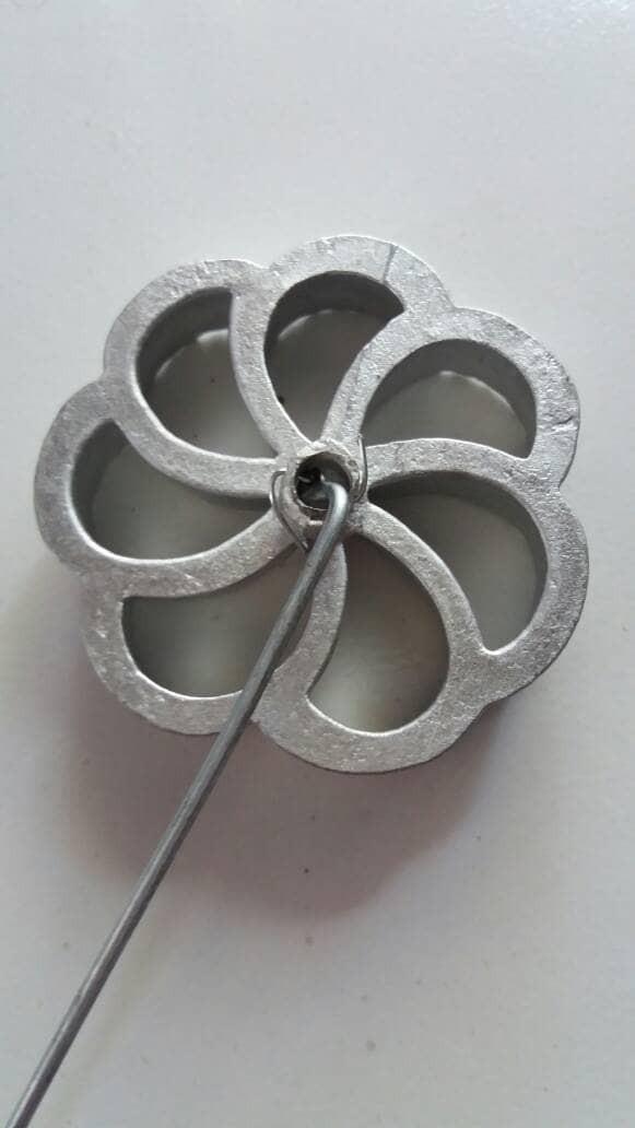 Cetakan Kembang Goyang Matari Bunga Kamboja / Jasmin Diameter 8cm