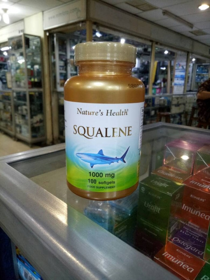 harga Nature health squalene 1000 mg isi 100 sofgel Tokopedia.com