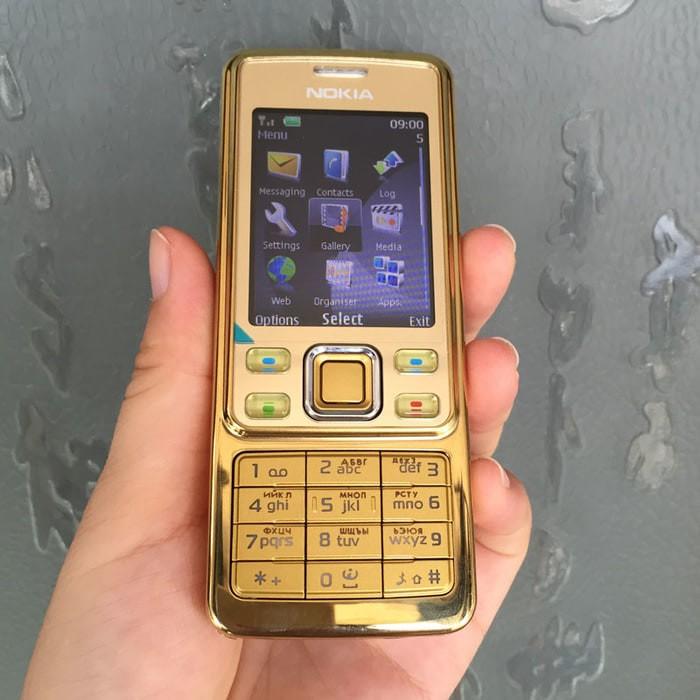 Nokia 6300 gold handphone jadul ...