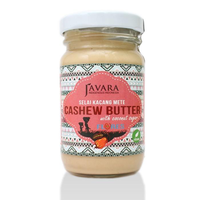 selai kacang mede javara   javara flores cashew butter