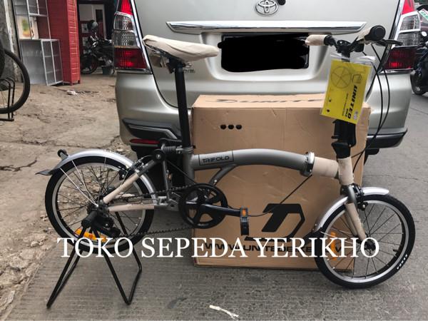 harga Sepeda lipat 16 united trifold ( lipatan model brompton ) Tokopedia.com