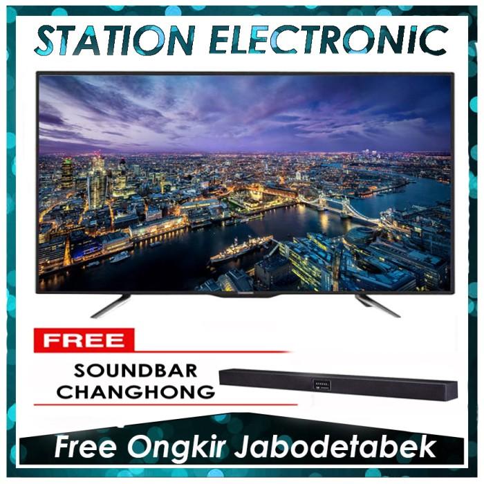 harga Changhong led tv 55d2200 + soundbar changhong- hitam [55 inch] Tokopedia.com