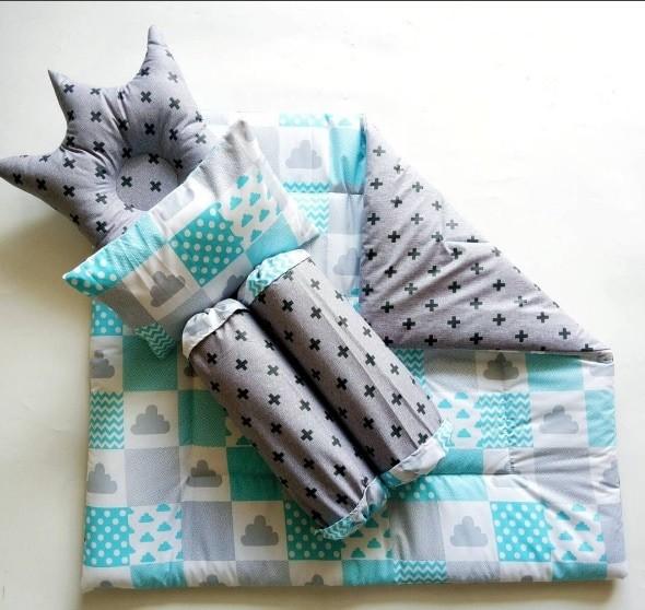 harga Baby bedding set - i love blue (bed cover bayi / selimut bayi) Tokopedia.com