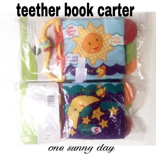 Jual BUKU BANTAL TEETHER BOOK CARTER TEETHER CARTER GIGITAN BAYI ... 577b9f2004