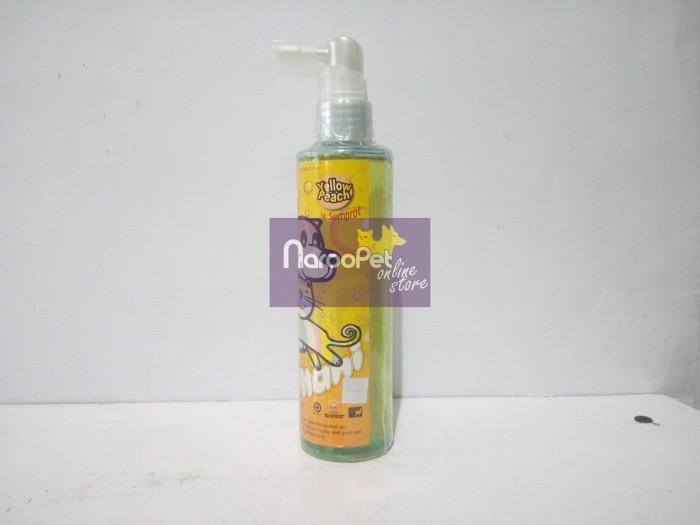 harga Parfum anjing kucing armani anti frizz fresh cologne yellow peach Tokopedia.com