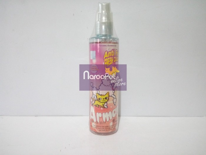 harga Parfum anjing kucing armani anti frizz fresh cologne sweet strawberry Tokopedia.com