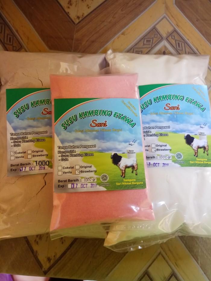 Foto Produk SUSU KAMBING ETAWA BUBUK grade 1 1000gr - Original dari Pabrik Susu kambing