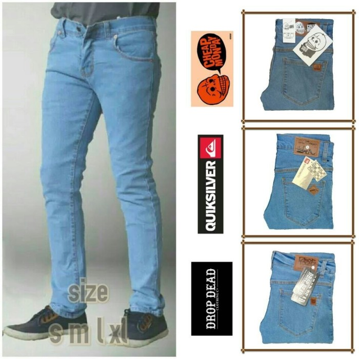 Celana Jeans Skinny Pria Murah Meriah