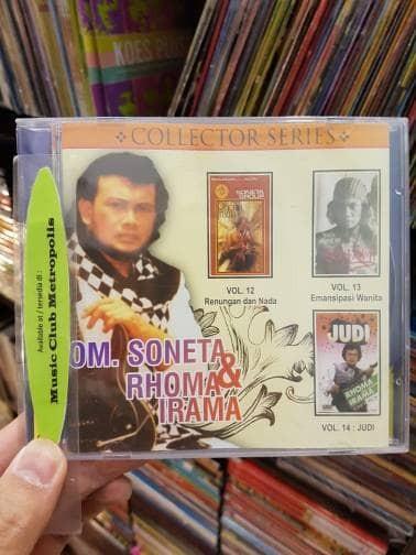 harga Cd om. soneta dan rhoma irama - vol.12 / vol.13/ vol.14 Tokopedia.com