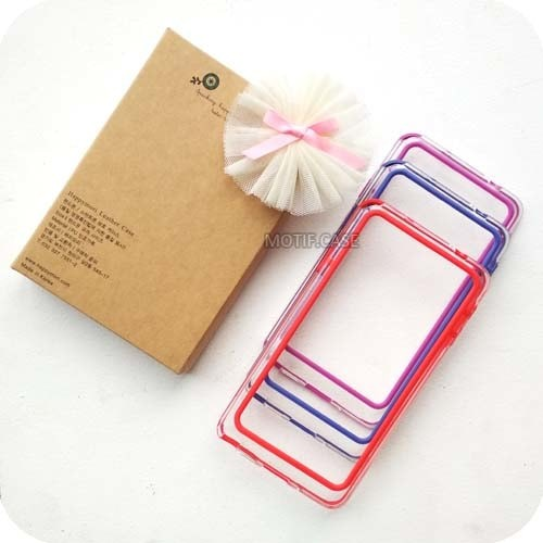 Samsung NOTE 3 N9000 Full Color Bumper Jelly Karet Pelindung Samping