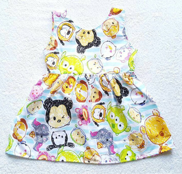 harga V back dress anak cewe perempuan lucu cute big tsumtsum Tokopedia.com