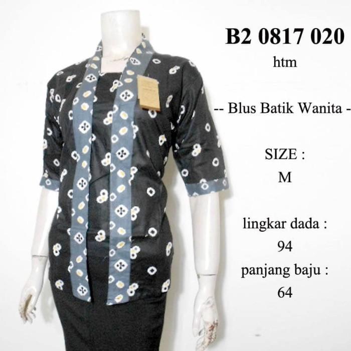 harga Blus batik kutubaru jumputan b20817020 / grosir batik murah / kebaya Tokopedia.com