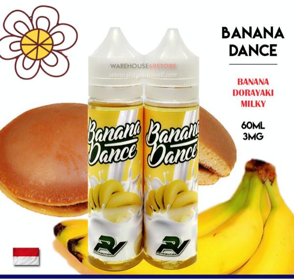 E Liquid Vapor Vape Banana Dance 60ML Premium