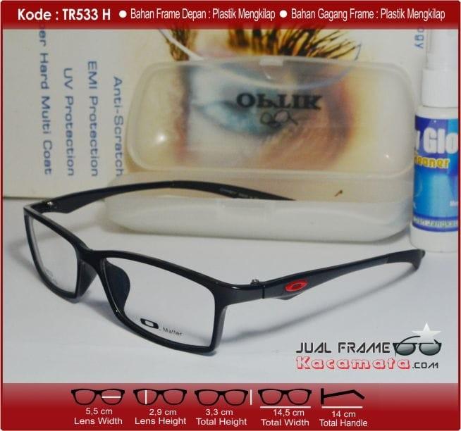 Jual Frame Kacamata Minus +Lensa Antiradiasi Wanita Pria Baca Korea ... d818d7ab70