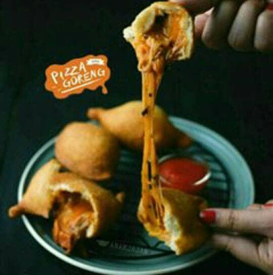 Pizza goreng indosaji mushroom
