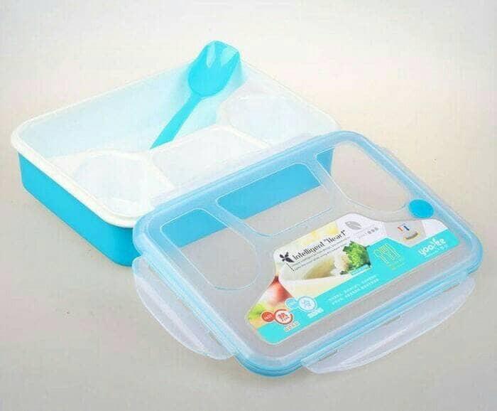 Lunch box / kotak makan yooyee 367 intelligent series sekat 4