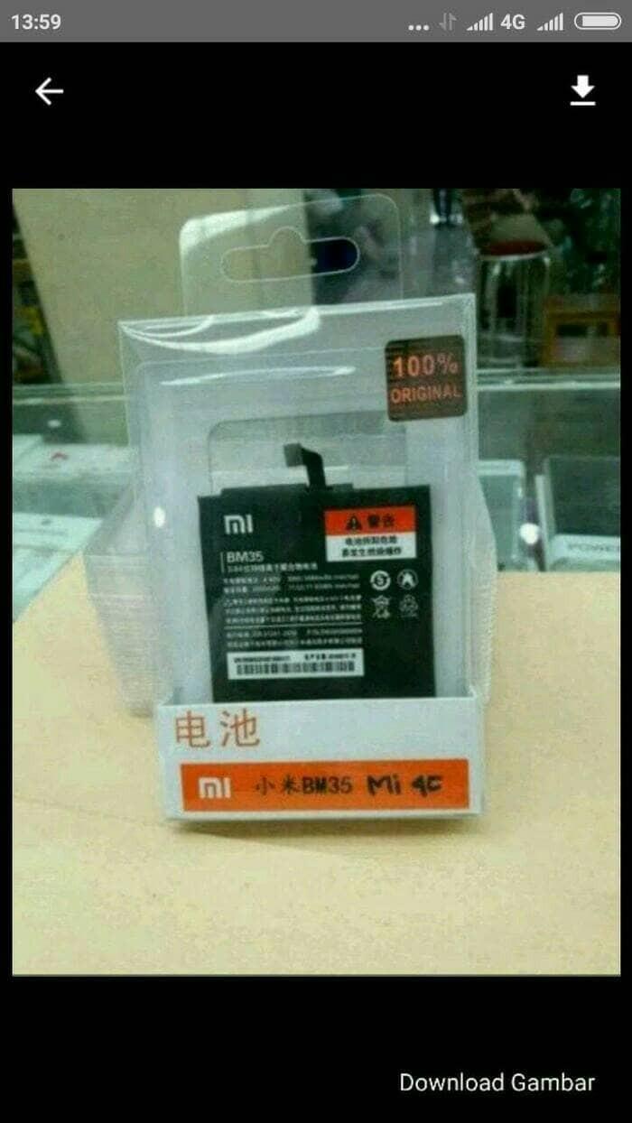 Jual New Xiaomi Mi4 C Cek Harga Di Mi4c Mi 4c 2 16 Garansi 1 Tahun Batere Batre Bm 35 Original 100 Tokopediacom