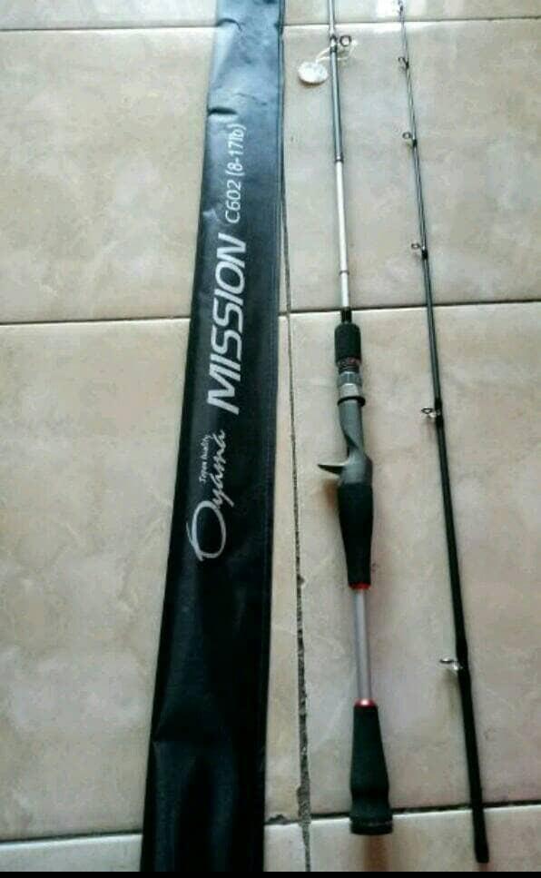 harga Joran bc oyama mission c602 fuji Tokopedia.com