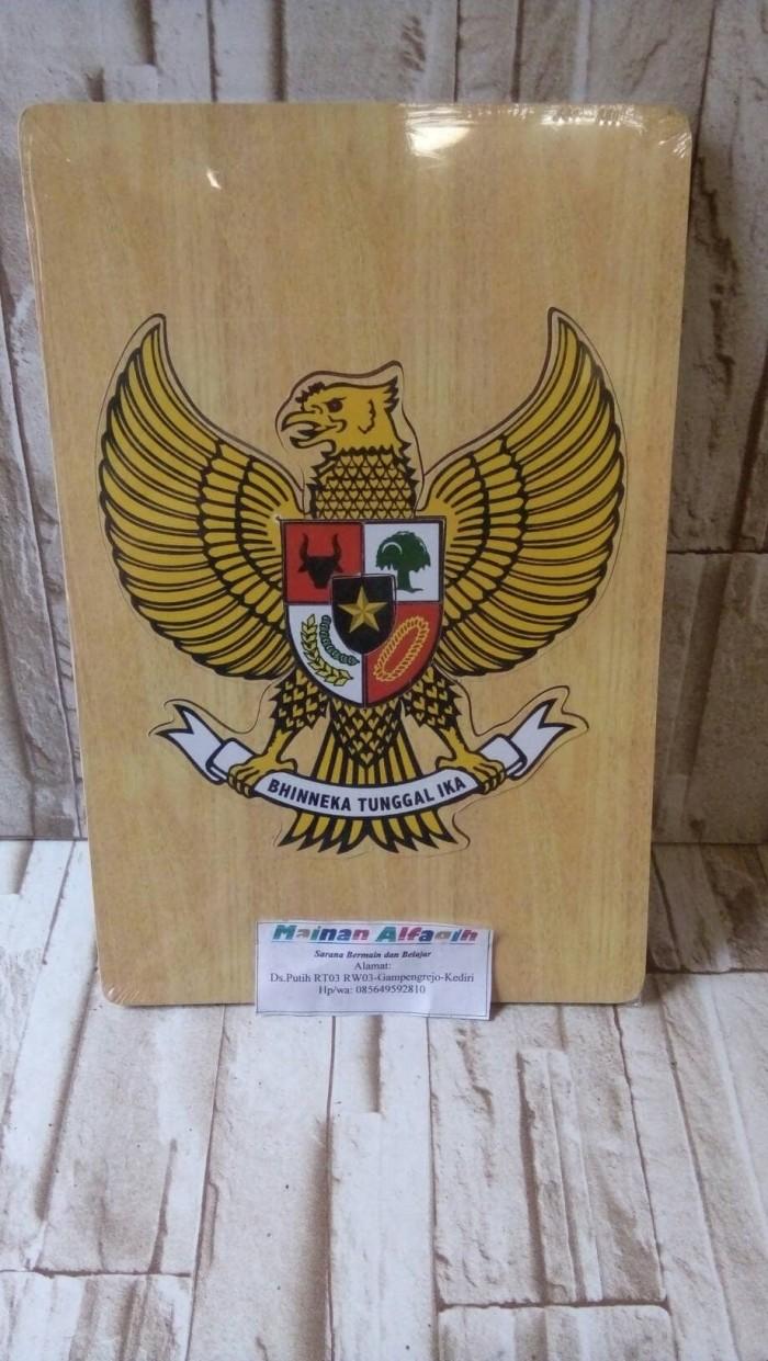 Jual Mainan Edukasi Anak Puzzle Burung Garuda Indonesia Kota Kediri Mainanalfaqih