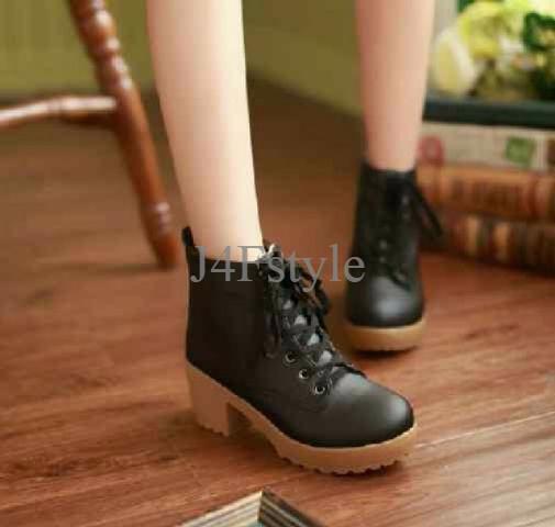 Rsm Sepatu Boot Heels Wanita S233b Black - Daftar Harga Terlengkap ... bc80b8fde3