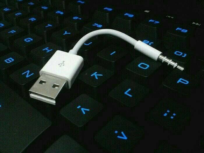 harga Original kabel data ipod shuffle generasi 2nd || 3rd || 4th Tokopedia.com