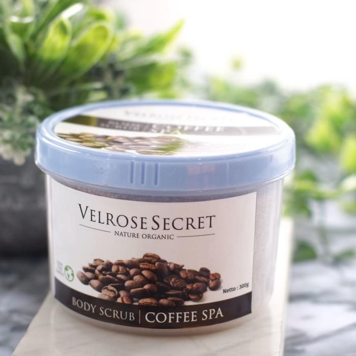 Velrose secret - lulur badan coffee spa - kopi spa nature